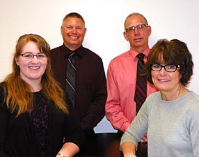 Group photo of Hendricks Insurance Agency's Independent Agents & Staff